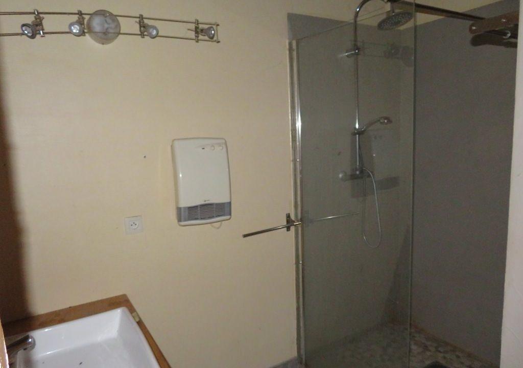 br 005 ferme renovee rieumes 4.40ha salle d eau