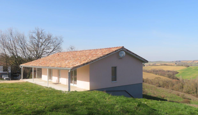 is 009 villa T3 rieumes vue ensemble