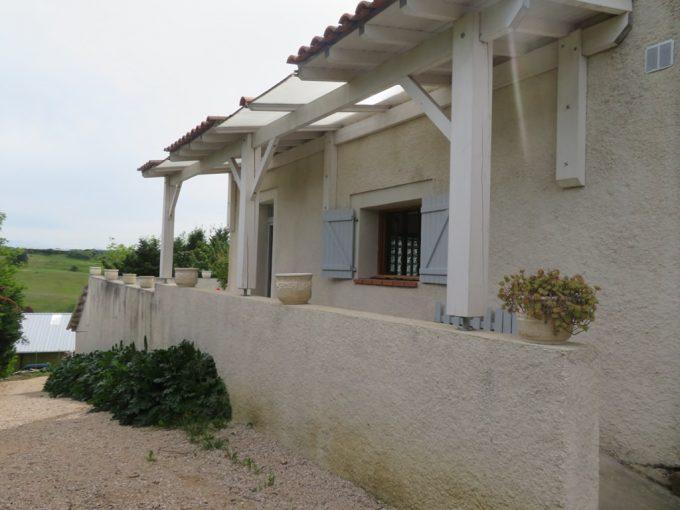 is 018 maison de village canton de rieumes facade cote 1