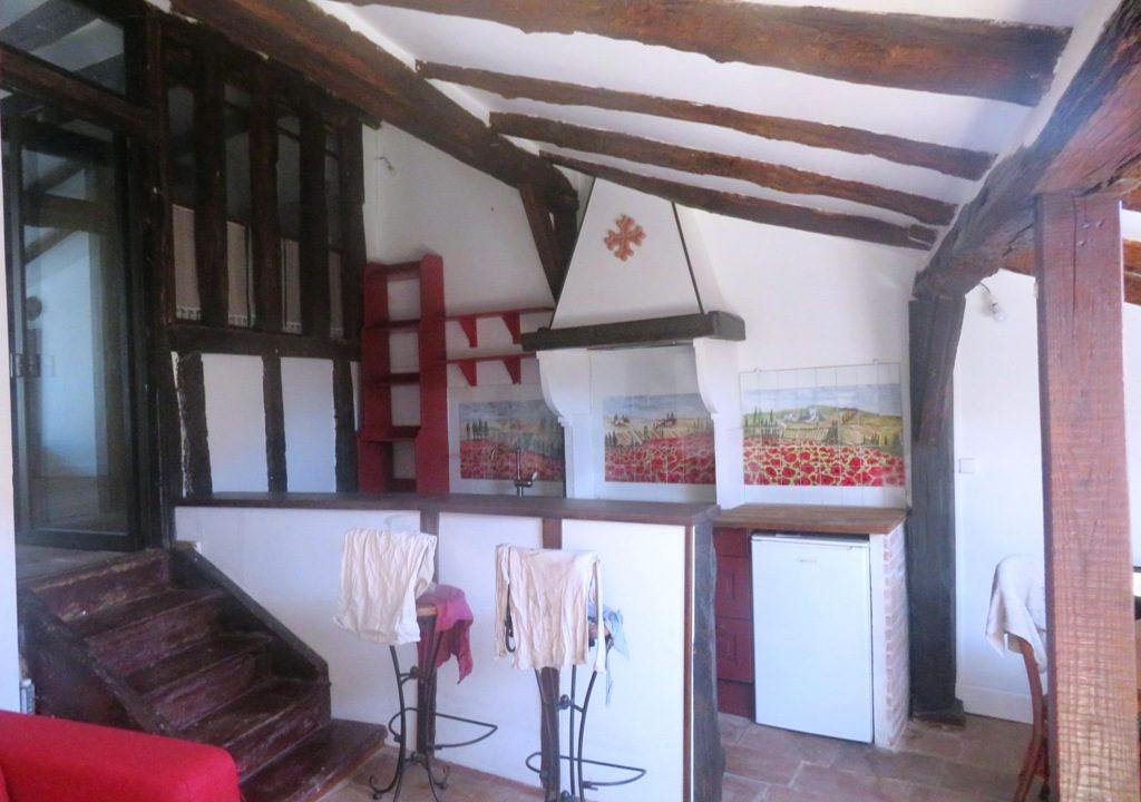 is 018 maison de village rieumes centre vue cuisine